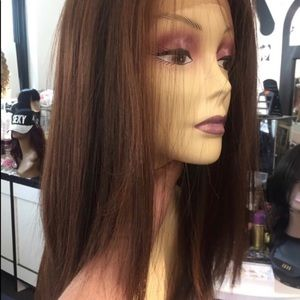 Accessories - Wig reddish copper long Irish girl Wig Lacefront